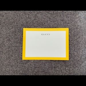 Gucci Stationery Paper